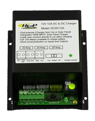 DC to DC 12Amp 12V Charger