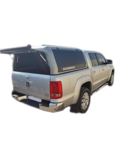 VW Amarok Dbl Cab Rhino Cab Canopy Grey - The Bush Company