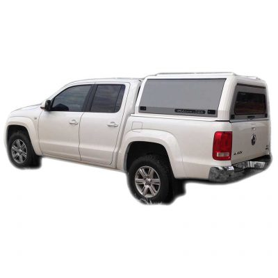 VW Amarok Dbl Cab Rhino Cab Canopy White - The Bush Company