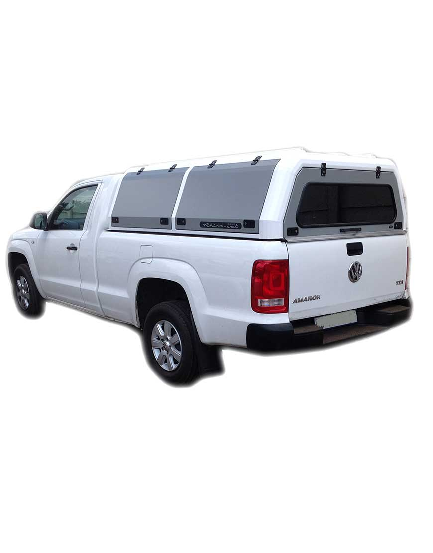 amarok single cab rhino cab extreme alu canopy the bush. Black Bedroom Furniture Sets. Home Design Ideas