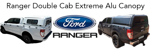 Ford Ranger Dual Cab Extreme Alu Canopy - The Bush Company