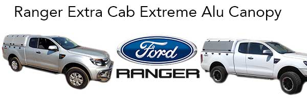 Ford Ranger Extra Cab Extreme Alu Canopy - The Bush Company