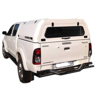 Hilux Dual Cab Canopy White