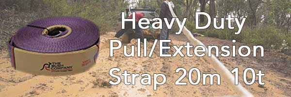 Heavy Duty Pull/Extension Strap 20m 10t