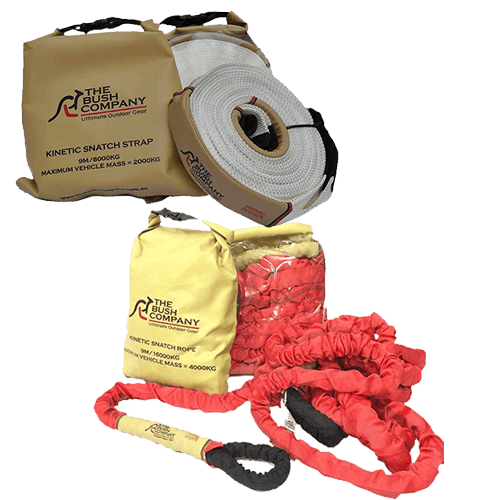 Pull and Extension Straps - The Bush Company
