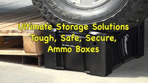 Ammo Box Destruction Test - The Bush company