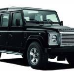 Land Rover Defender-Dashboard Organiser