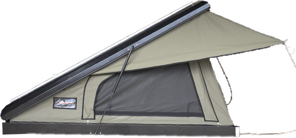 Clamshell Roof Top Tent Black Series The Bush Company Australia