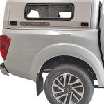 Nissan Navara D23/NP300 canopy side view close up