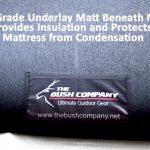 Thermal Underlay Marine Grade Carpet