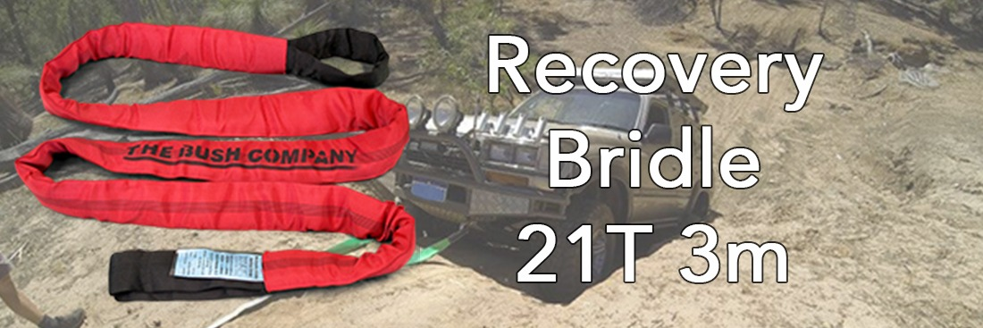 Recovery Bridle 2.5m 9t