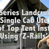 79 Series Landcruiser - Ultimate Fishing Rig - Roof Top Tent Install