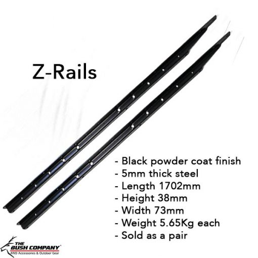 Z-Rails - pair and specifications